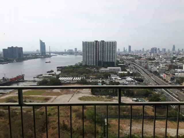 Sale condo at  U Delight Residence Riverfront Rama 3 Size 58 sqm. on 24th floor 2 bed